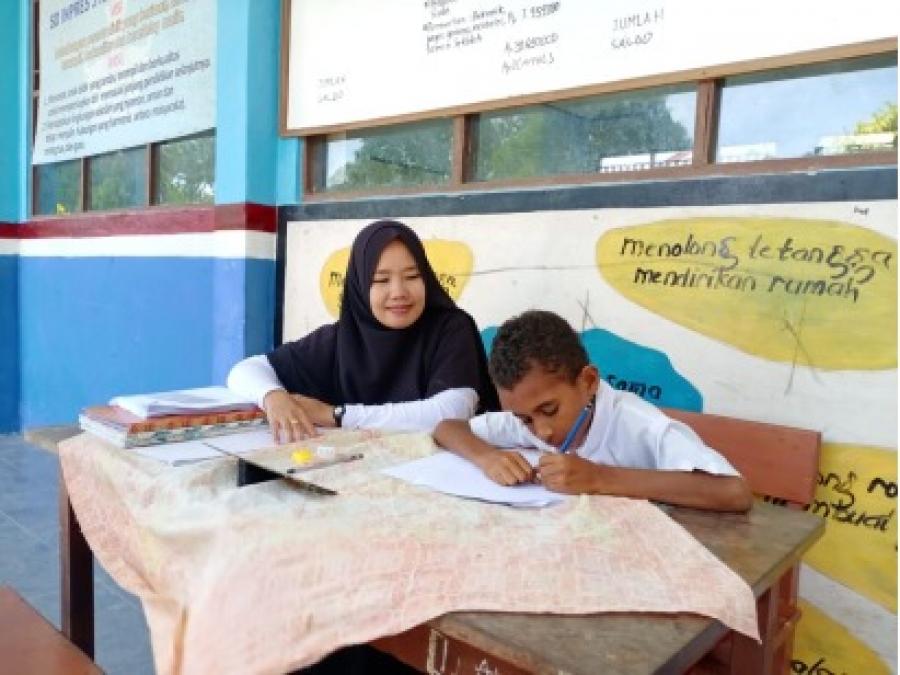 KEMITRAAN UNIMUDA - UNICEF KEMBALI LAKUKAN PENGUKURAN KEMAMPUAN MEMBACA SISWA (EGRA) DI KABUPATEN SORONG