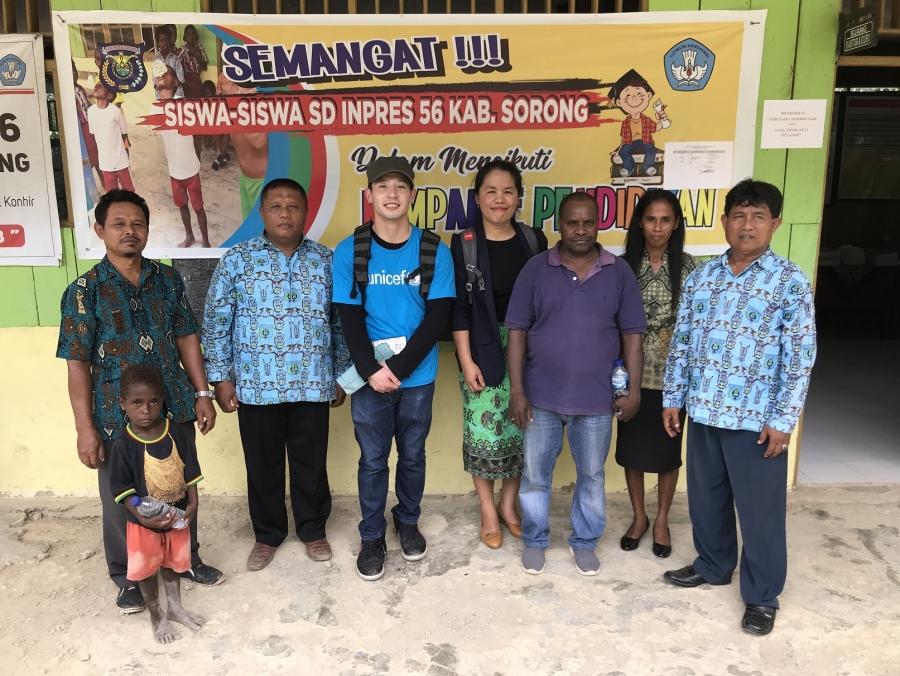 TULIS CERITA MENARIK, TIM UNICEF ASAL AMERIKA (Jimmy Kruglinski) Kunjungi Unimuda dan Sekolah Intervensi